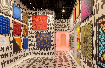 """Silks are to be displayed in one room of the """"Louis Vuitton &"""" exhibition."""