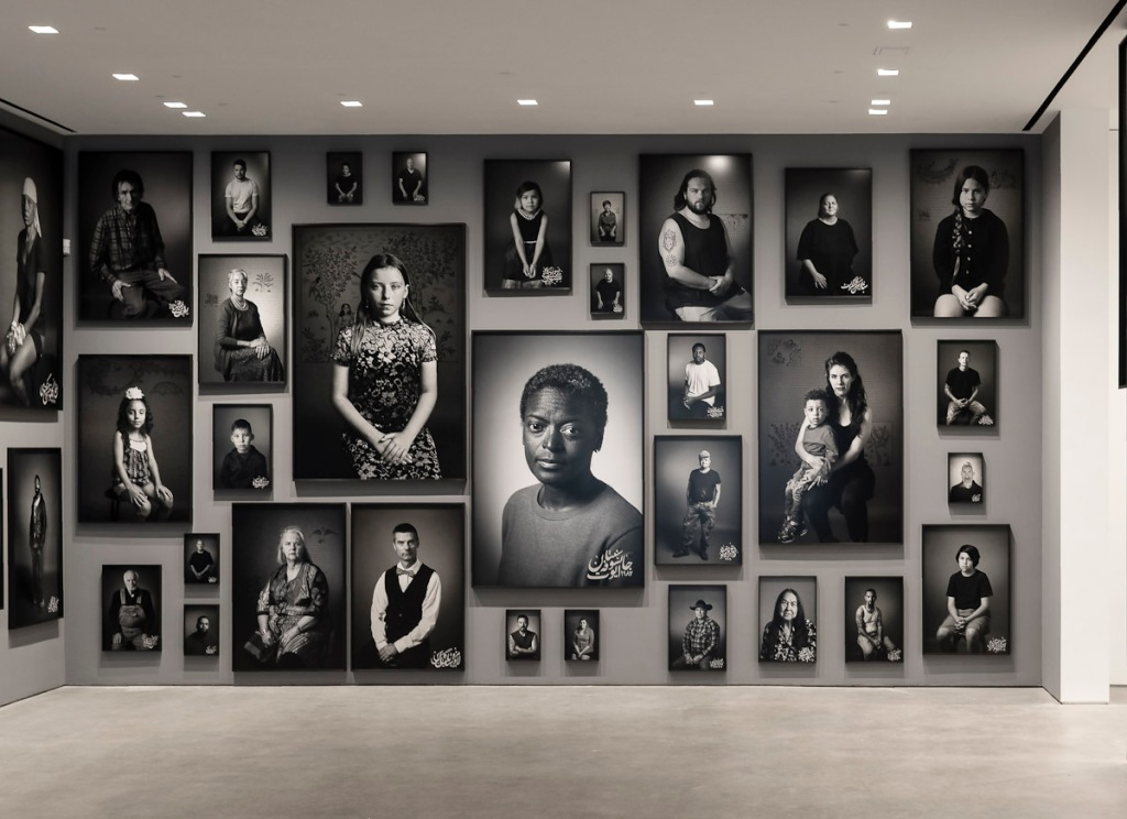 Installation view, Shirin Neshat: Land of Dreams, at Gladstone Gallery, New York, 2021. Courtesy the artist and Gladstone Gallery, New York and Brussels