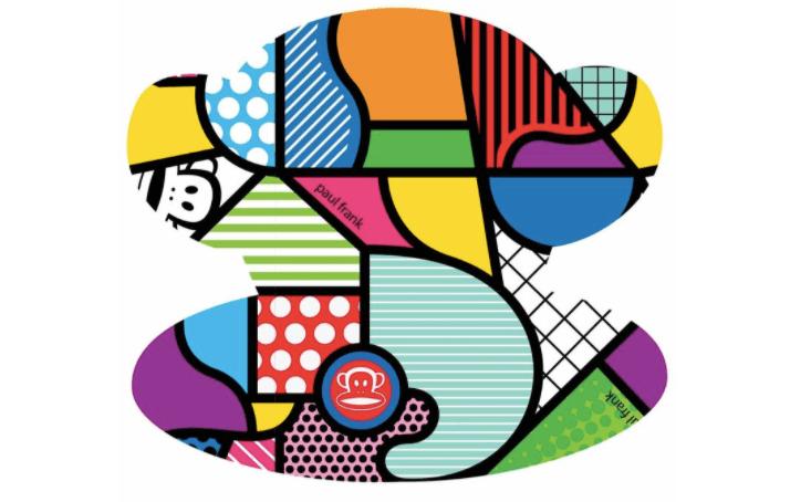A Paul Frank logo.