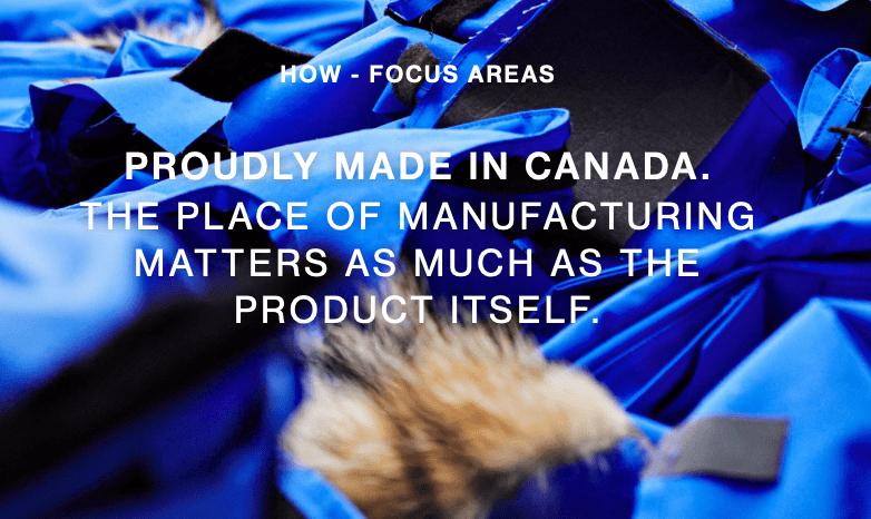 Canada goose, domestic production, labor organizers, labor unions, luxury, fashion, ethical