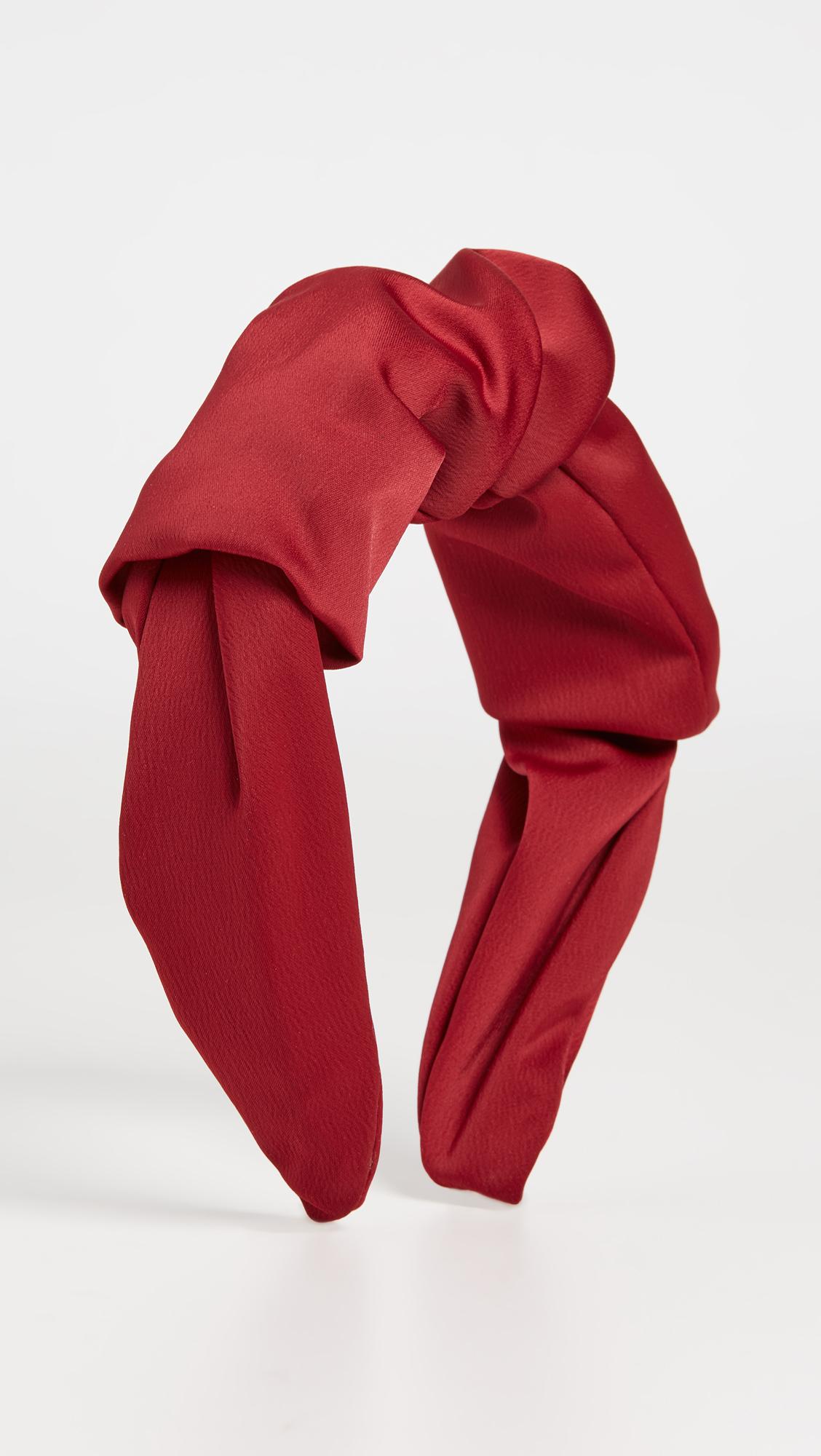Inauguration Fashion 2021: Shashi red Caspian headband, $38