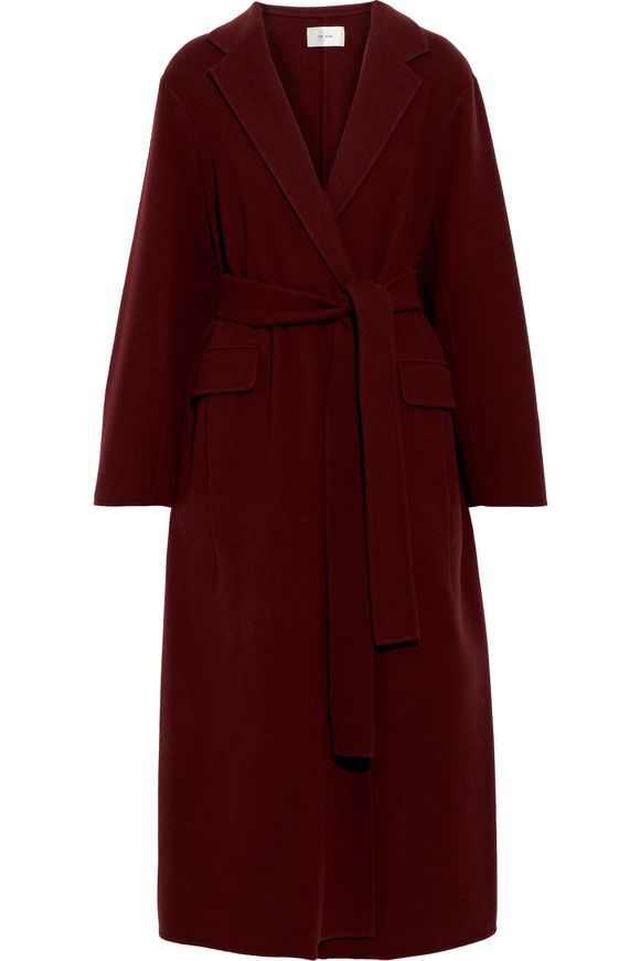 Inauguration Fashion 2021: The Row amoy cashmere and wool-blend felt coat, $2,698 from The Outnet