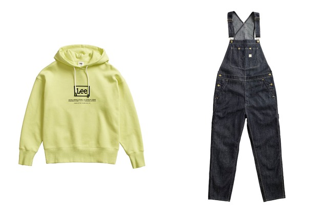 A look from the Lee x H&M collaboration.