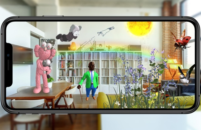 """Visual realization of London's biggest public festival of augmented reality art """"Unreal City."""""""
