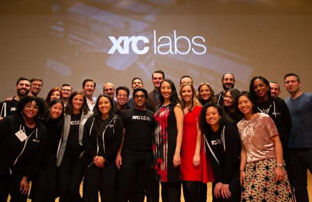 XRC Labs's last in-person Demo Day in January, 2020.