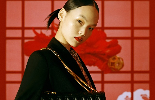 Versace's Lunar New Year campaign.