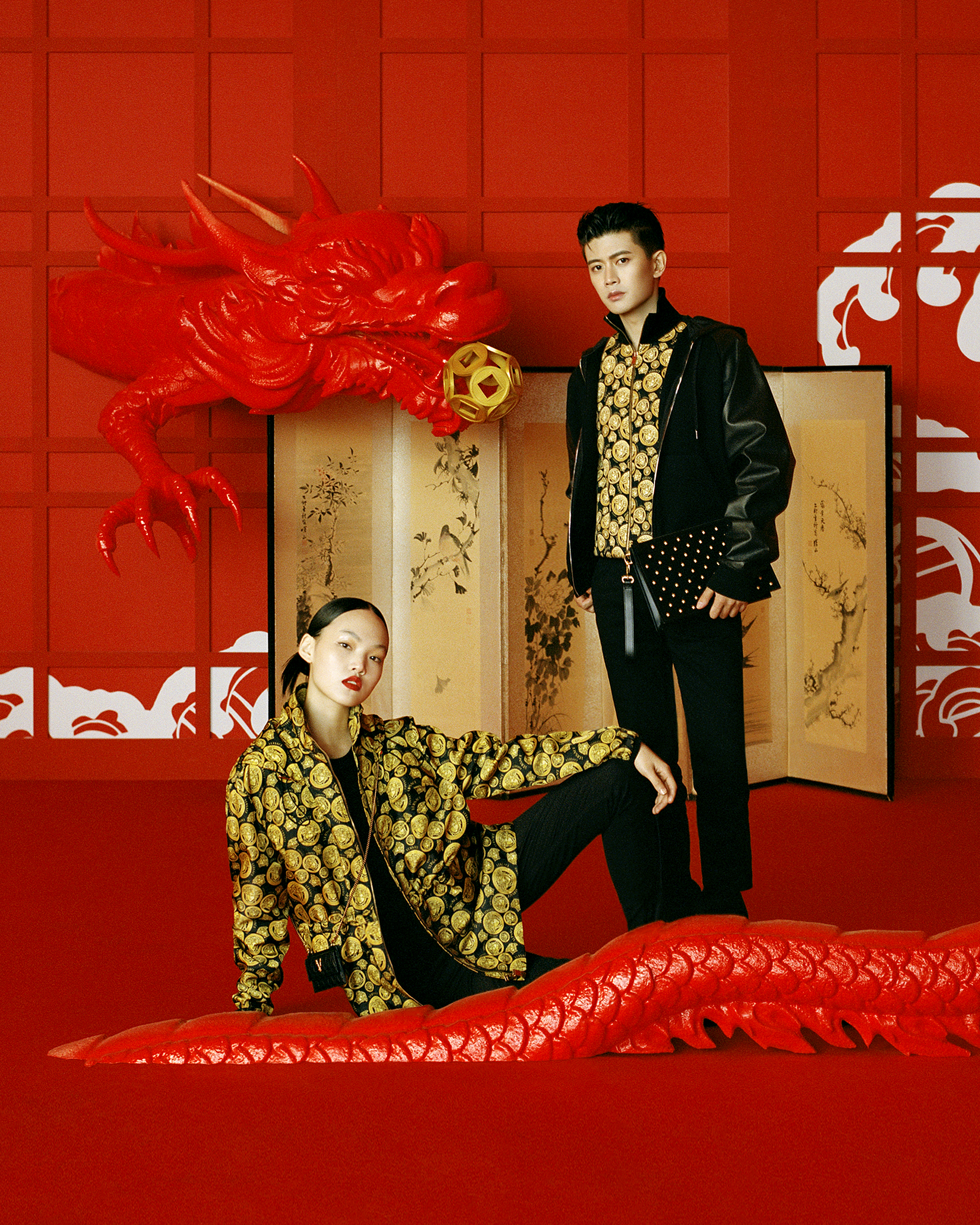 Versace Chinese New Year 2021 Campaign