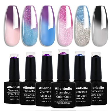 allenbelle, best color changing nail polishes