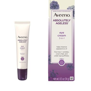 aveeno, best eye cream for wrinkles and crows feet