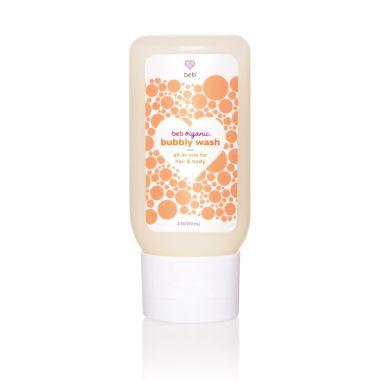 beb organic best bubble bath products