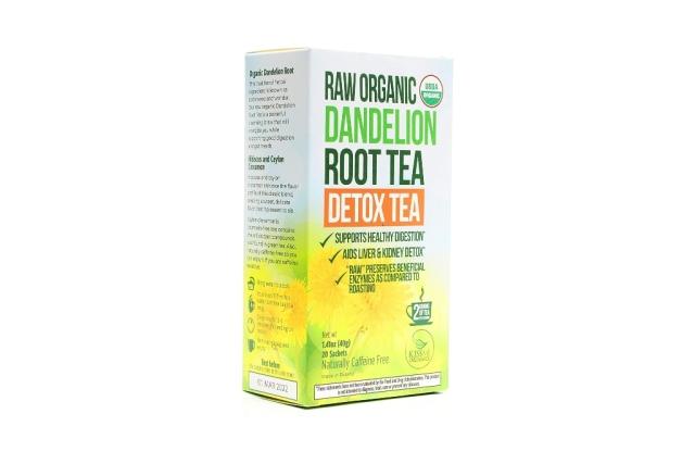 kiss me organics, best detox teas