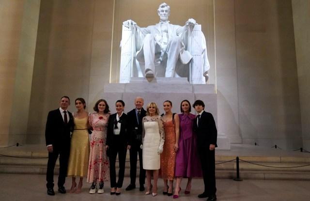 President Biden Granddaughters' Inauguration Fashion