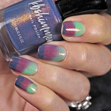 kbshimmer, best color changing nail polishes