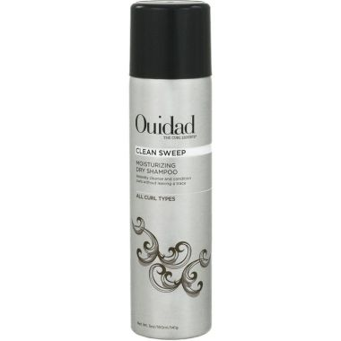 clean sweep moisturizing dry shampoo, best ouidad hair products