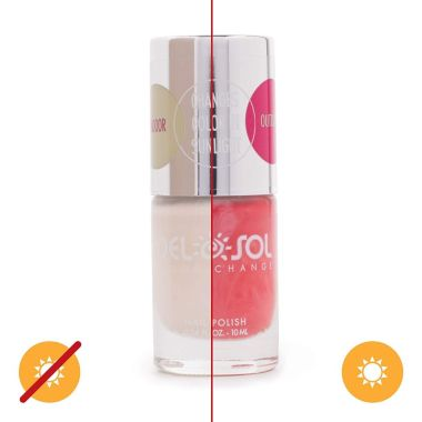 del sol, best color changing nail polishes