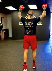 Dustin Poirier for Robert Graham.