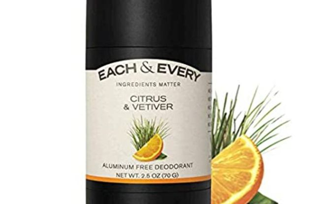 each and every, best natural deodorants