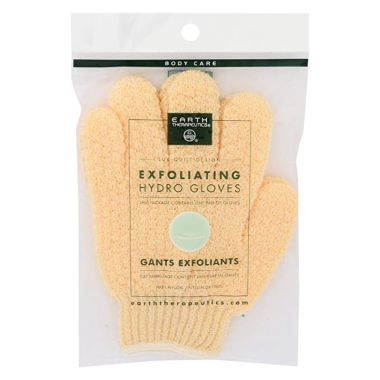 earth therapeutics, best exfoliating gloves