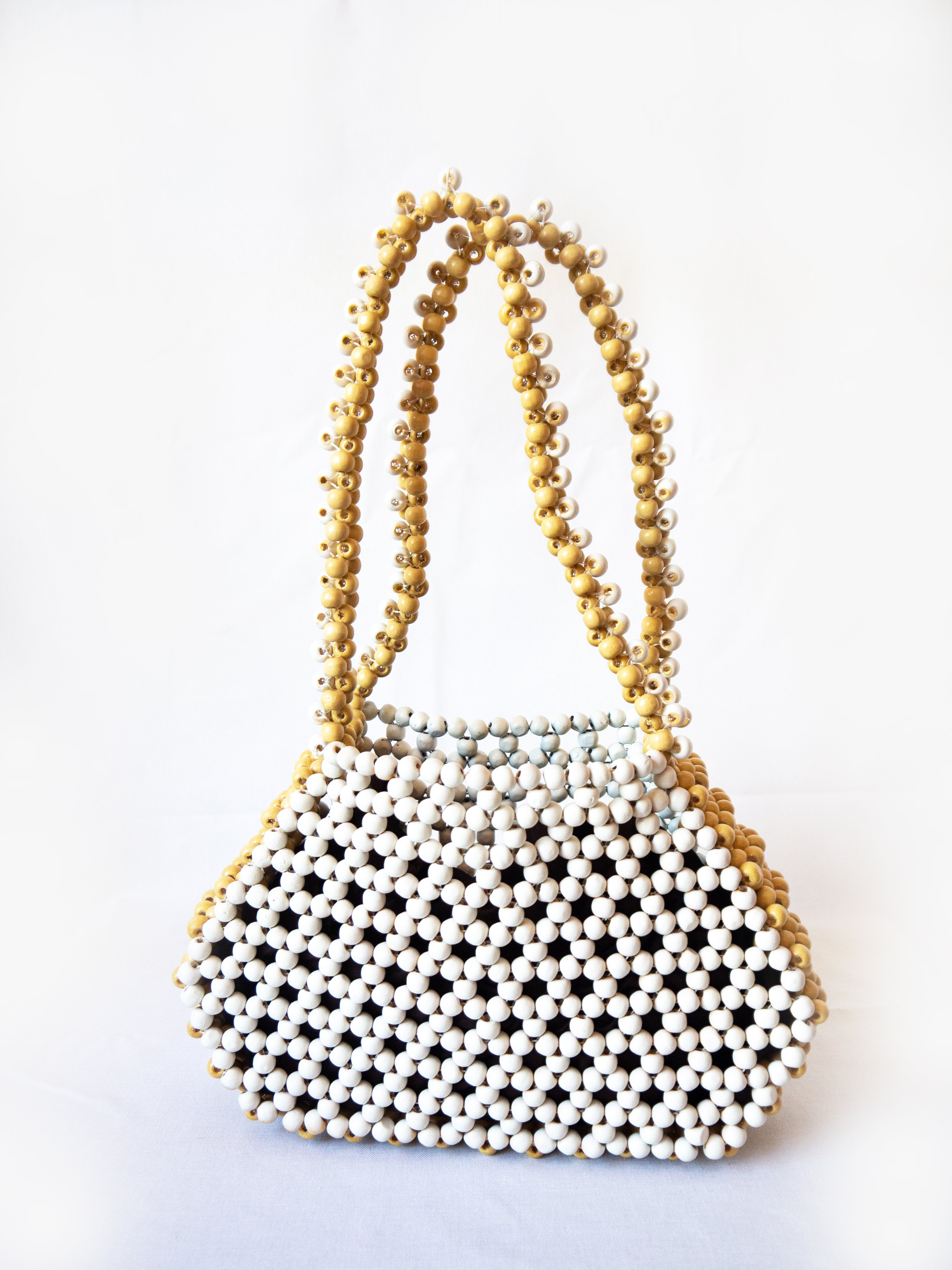 EDAS x Cameron Tea, Untitled, handmade beaded handbag
