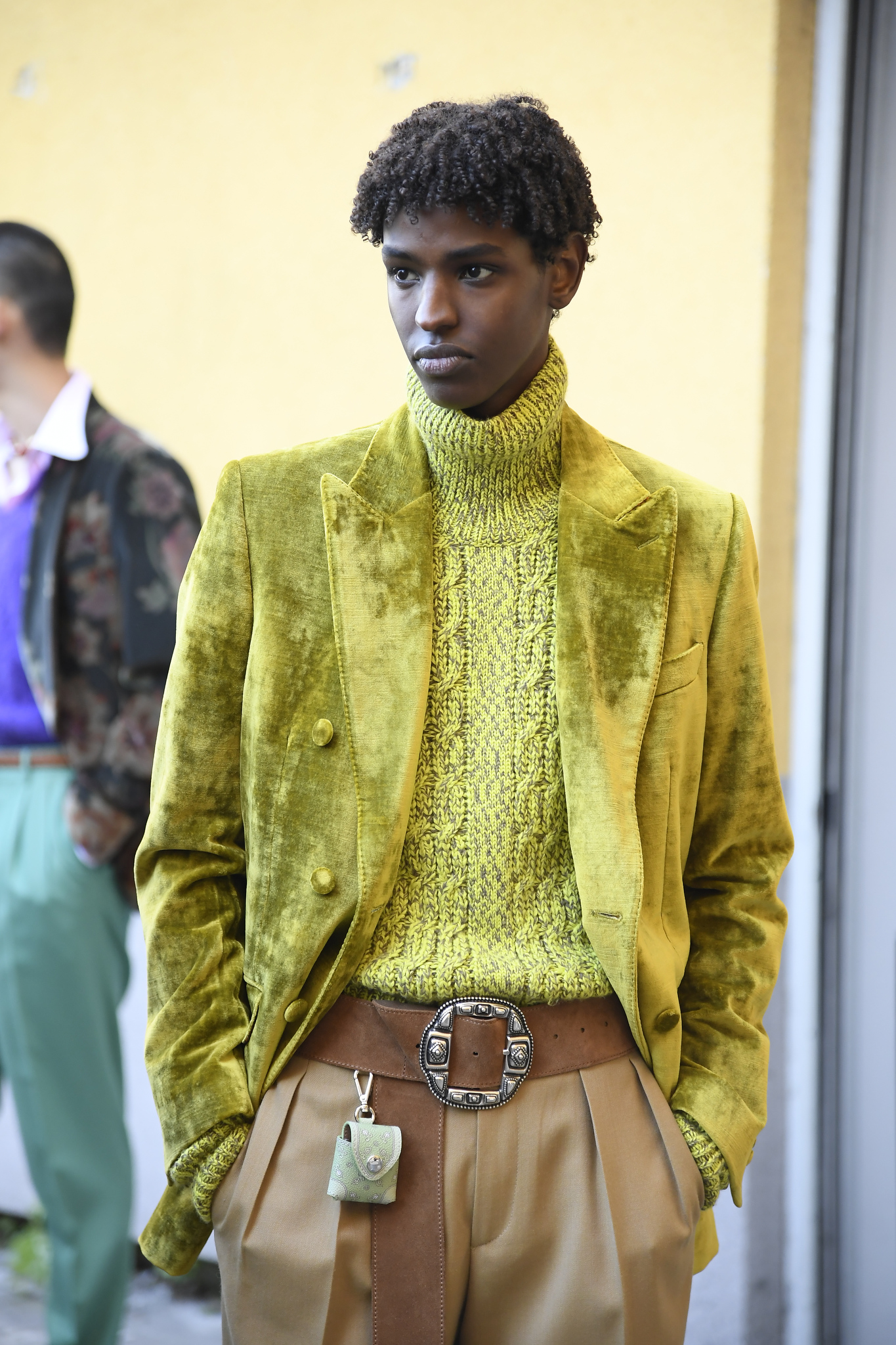 Backstage at Etro Men's Fall 2021