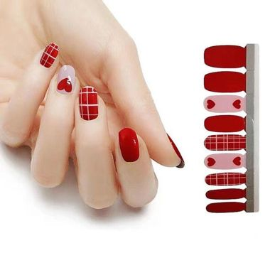 manionthego, best valentines day nail stickers