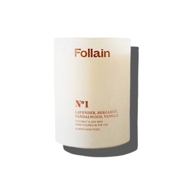 follain, best soy candles