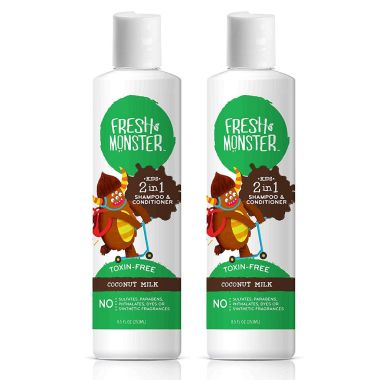 fresh monster, best kids curly hair products