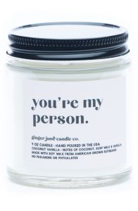 ginger june candle co, best valentines day candles