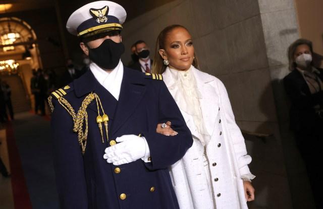 Jennifer Lopez Biden Inauguration looks