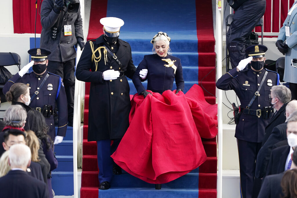 Schiaparelli Designer Talks About Dressing Lady Gaga for the Inauguration