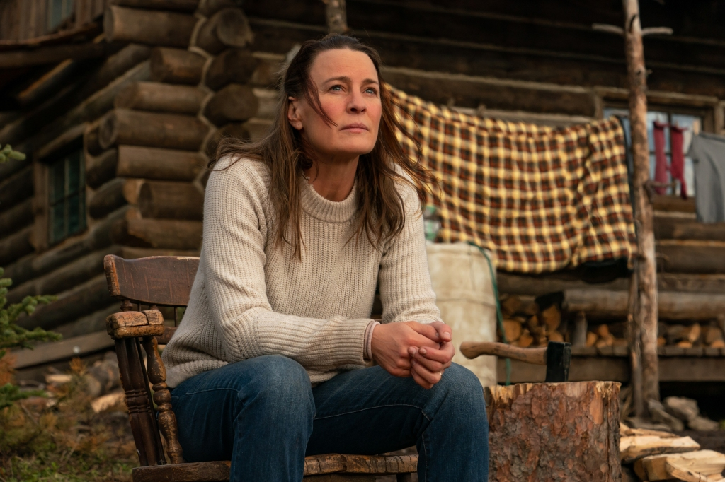 """Robin Wright stars as """"Edee"""" in her feature directorial debut LAND, a Focus Features release. Credit : Daniel Power / Focus Features"""