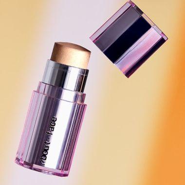 light lock stick, about face, halsey makeup line