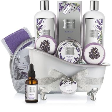 lovery, best spa gift baskets
