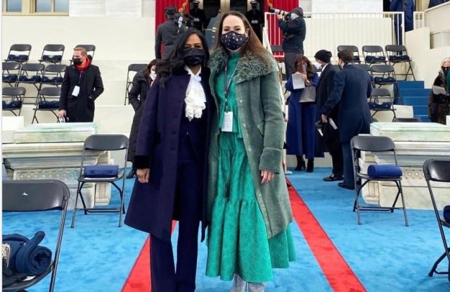 Kamala Harris' Niece Meena Harris at Inauguration