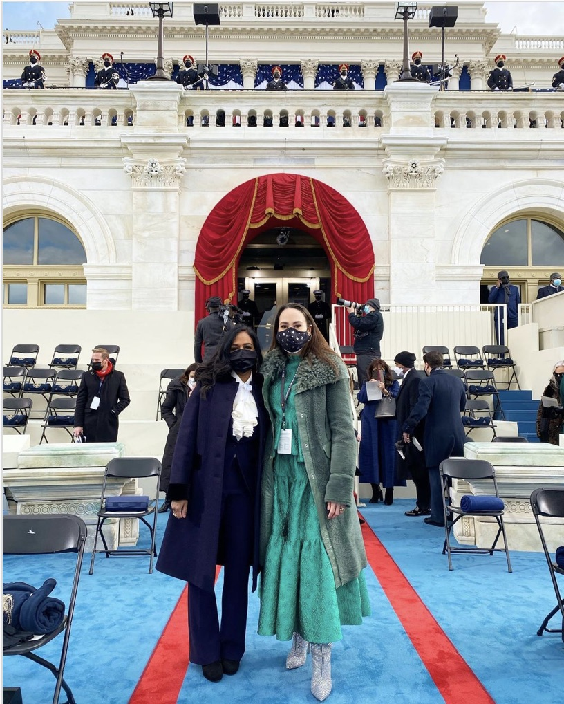 Kamala Harris' Niece Meena Harris at Inauguration