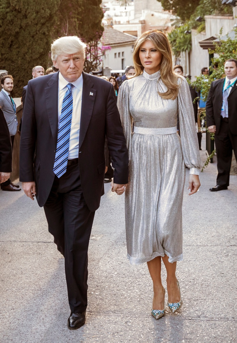 Melania Trump S Style As First Lady Photos Wwd