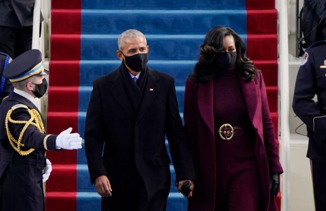 Michelle Obama Wears Sergio Hudson at Joe Biden ...