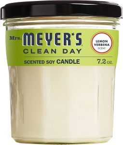 mrs meyers, best soy candles
