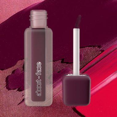 paint-it matte lip color, about face, halsey makeup line