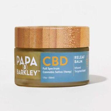 papa and barkley, best cbd cream for pain