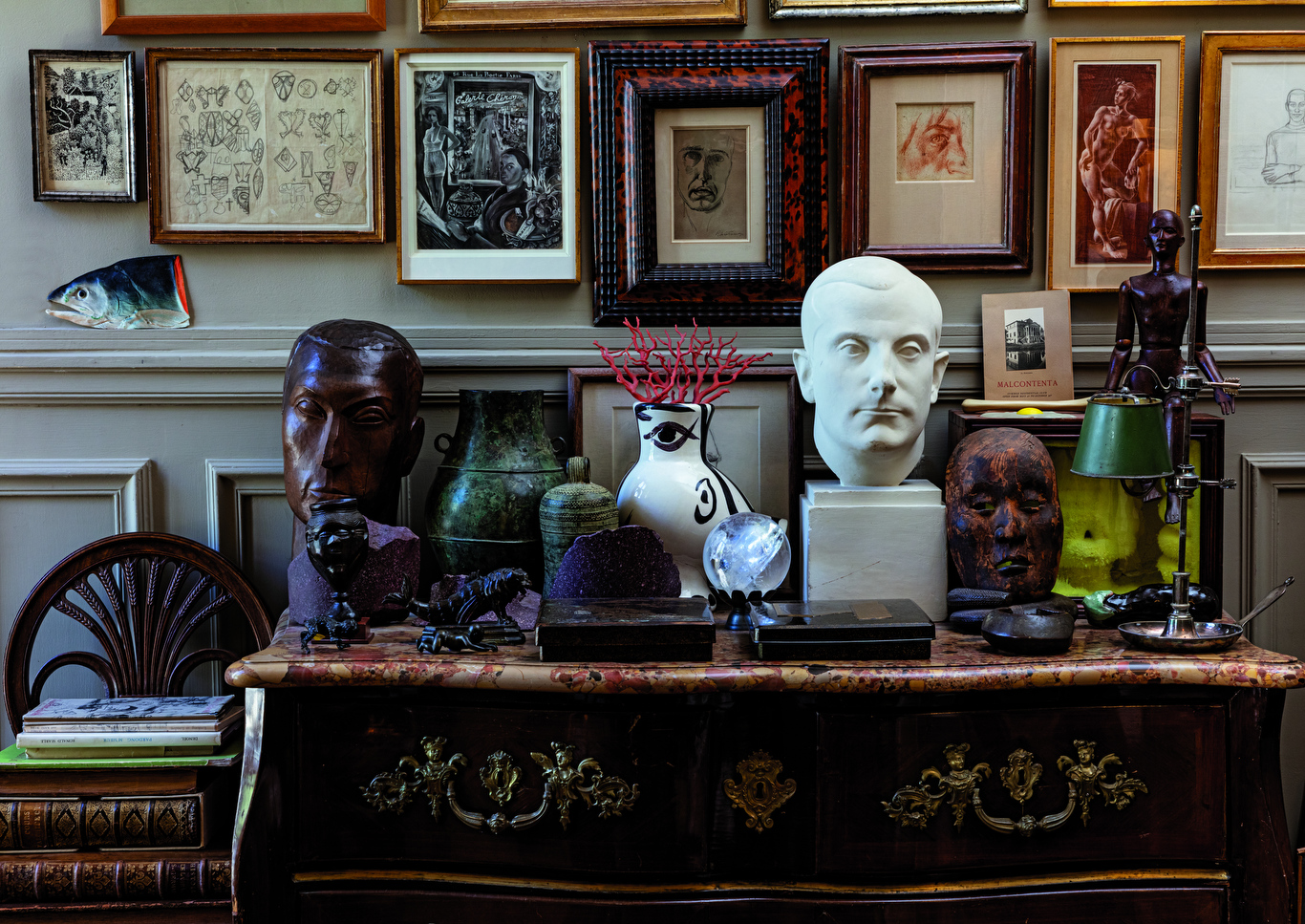 A selection from the Sotheby's Pierre Le Tan auction