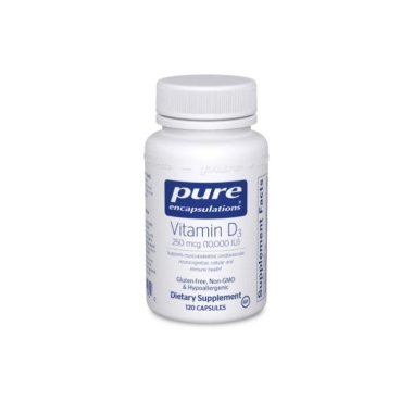 pure encapsulations, best vitamin d supplements