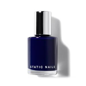 Static Nails Liquid Glass Lacquer in Indigo