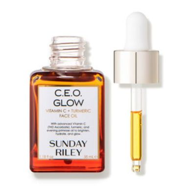 sunday riley, best vitamin e oils for skin, ceo glow, tumeric