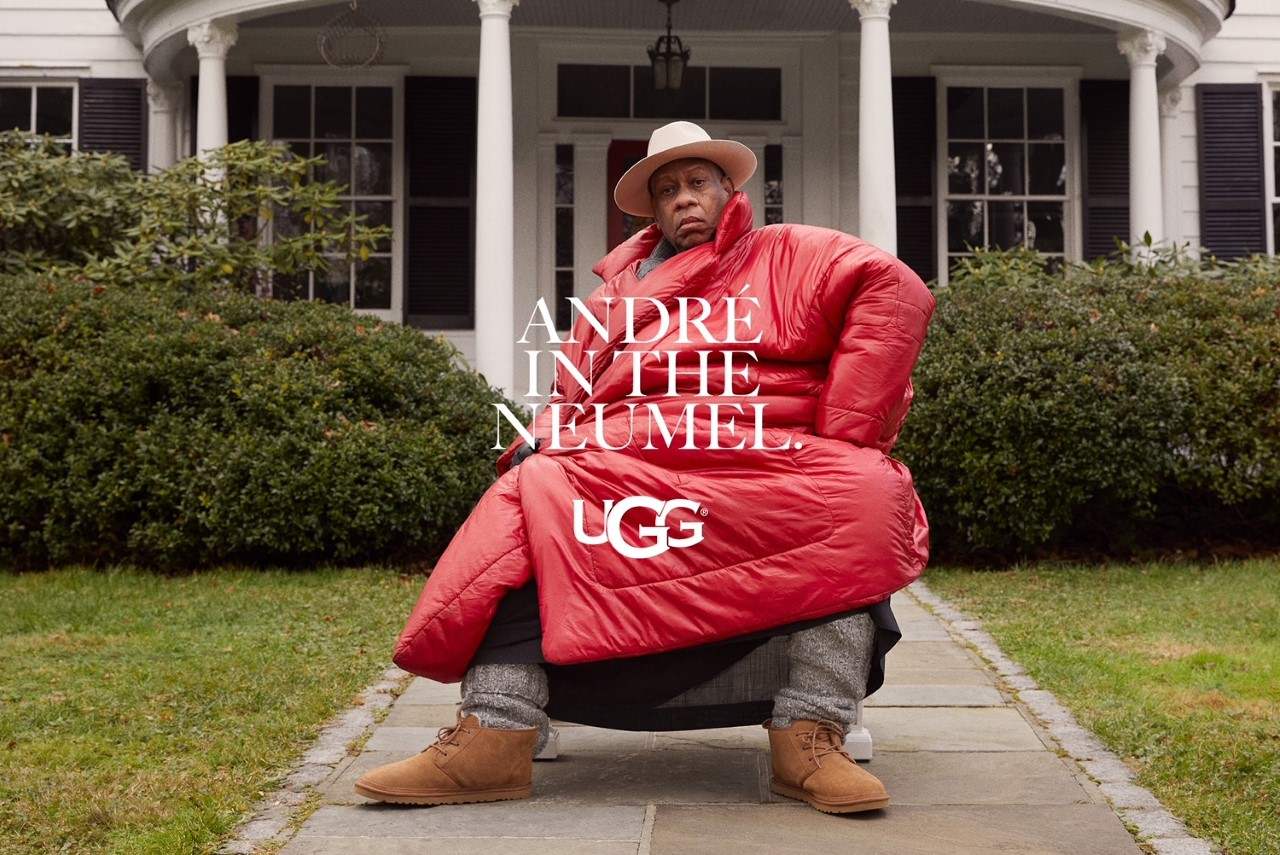 André Leon Talley Ugg