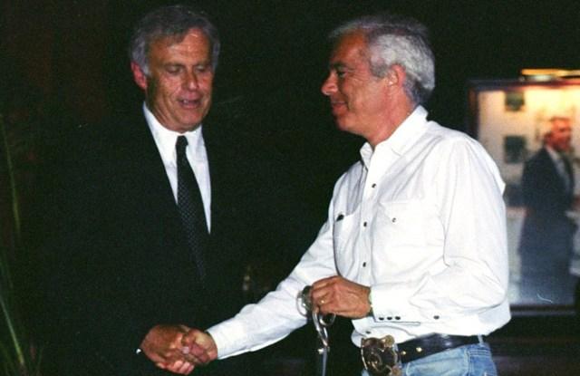 Peter Strom and Ralph Lauren