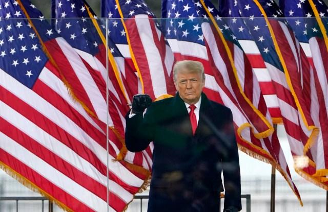 Facebook Bans President Trump 'Indefinitely'