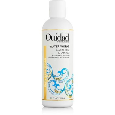 water works clariying shampoo, best ouidad hair products