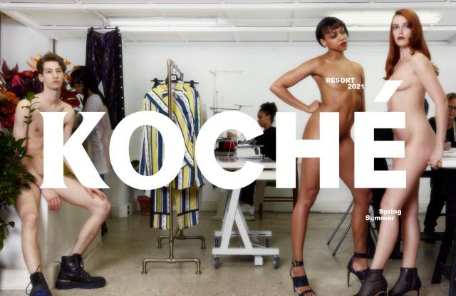 Koché's pre-spring campaign.