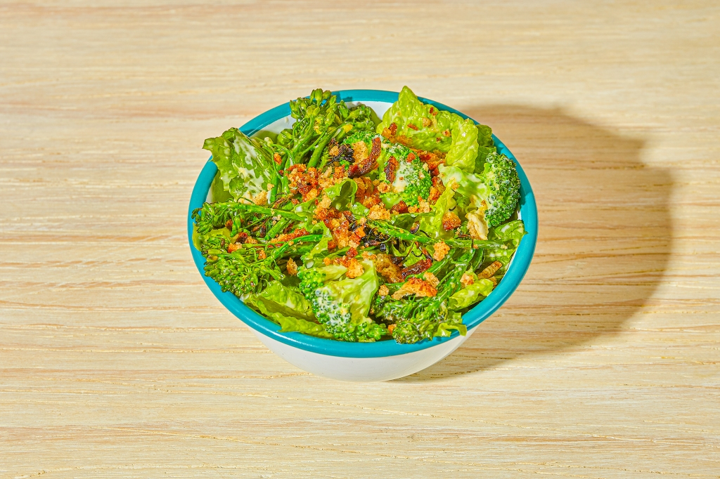 The Lekka Broccolini Caesar from Chef Amanda Cohen